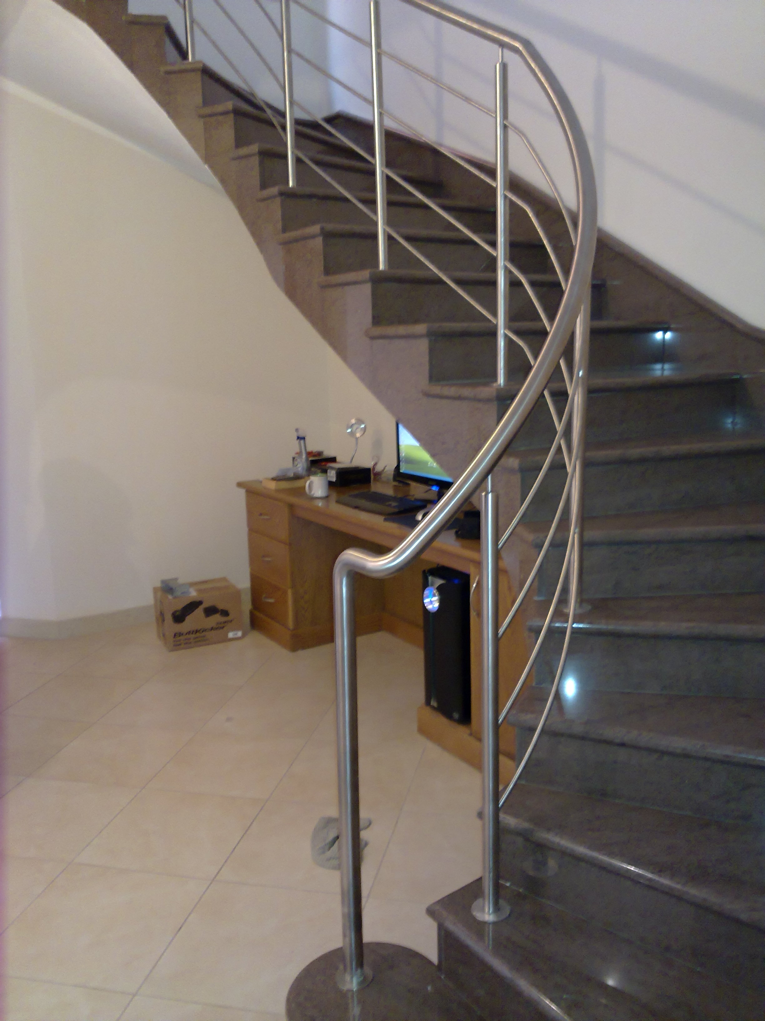 Spiral Stainless Steel Handrail | Stainless Steel and Metal | ACMA ...