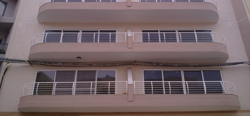 Steel Balconies