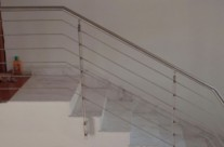 Stainless Steel Indoor Staircase